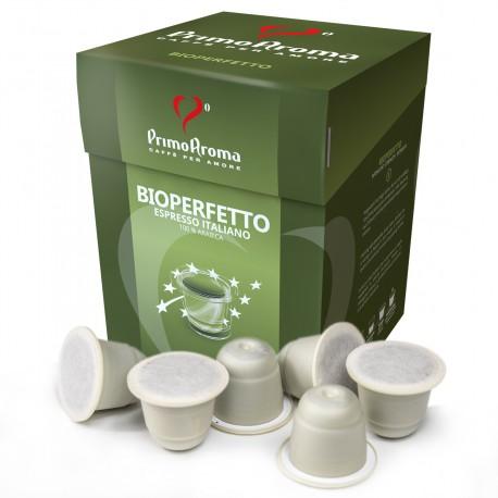 Bioperfetto Biokaffee in der Bio-Kapsel | Biologisch abbaubar und kompostierbar