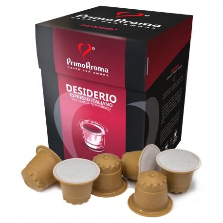 Desiderio Kaffee in der Bioholz-Kapsel | Biologisch abbaubar und kompostierbar