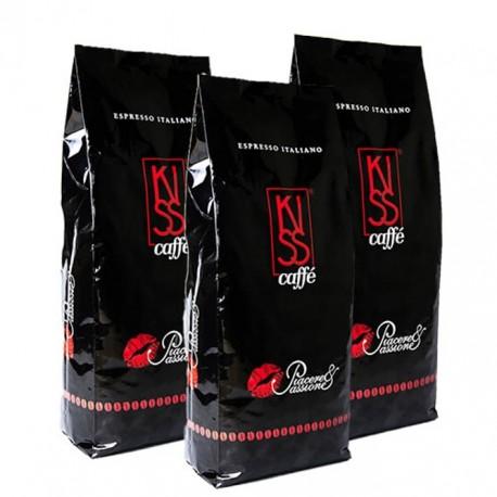 Kaffee Crema Kiss Caffé  3 x 1000 g