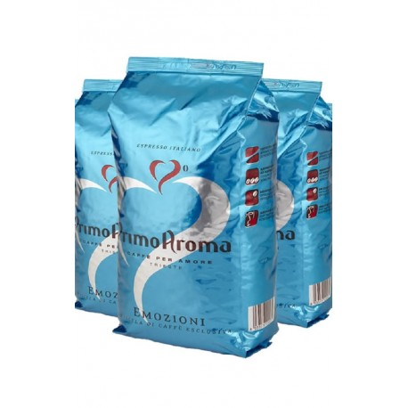Espresso Kaffee Emozioni Blue 3 x 1000 g