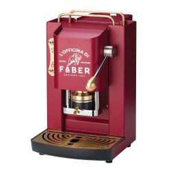 Faber Pad Maschine Pro Deluxe-Kirschrot