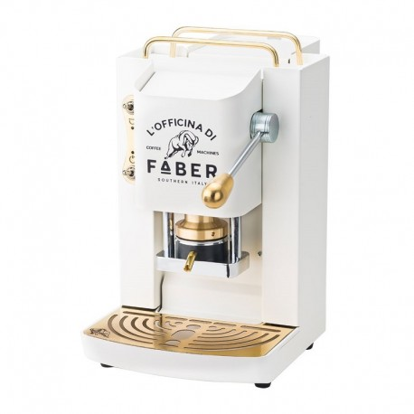 Faber Pad Maschine Pro Deluxe-Weiß-Gold