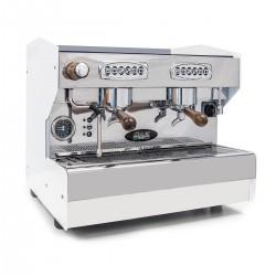 Espressomaschine SAB Jolly Compakt 2 Gruppen Edelstahl Automatik Programierbare Tastatur