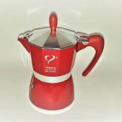 Espressokocher Top Moka & Caffe Desiderio & 2x Espresso-Tassen
