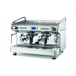 BFC Classica Eva  2 Gruppen Elektronik, Siebträgermaschine, Edelstahl-Kaffeemaschine