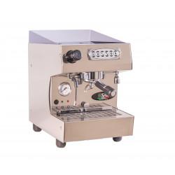 SAB Nobel Siebträger Espressomaschine, 1 Gruppe Wassertank, mit Festwasser-Option, Automatik, Seitenteile Edelstahl