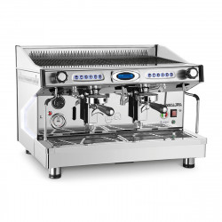 BFC Classica Eva Plus 2 Gruppen Elektronik, Siebträgermaschine, Edelstahl-Kaffeemaschine