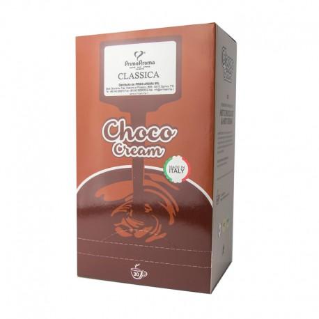 Kakao Choco Cream Bacio. Die nussige Trinkschokolade