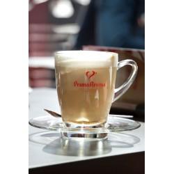 Primo Aroma Latte Macchiato Glas & Teller