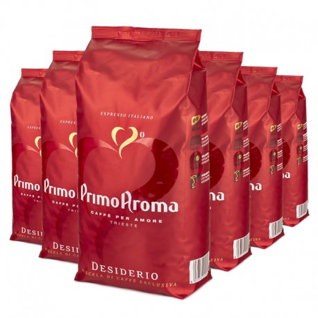 Espresso Kaffee Desiderio 6 x 1000 g