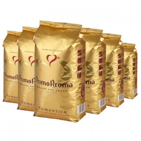 Espresso Kaffee Romantica 6 x 1000 g