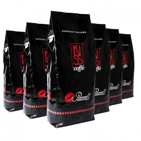 Kaffee Kiss / Piacere & Passione 6 x 1000 g