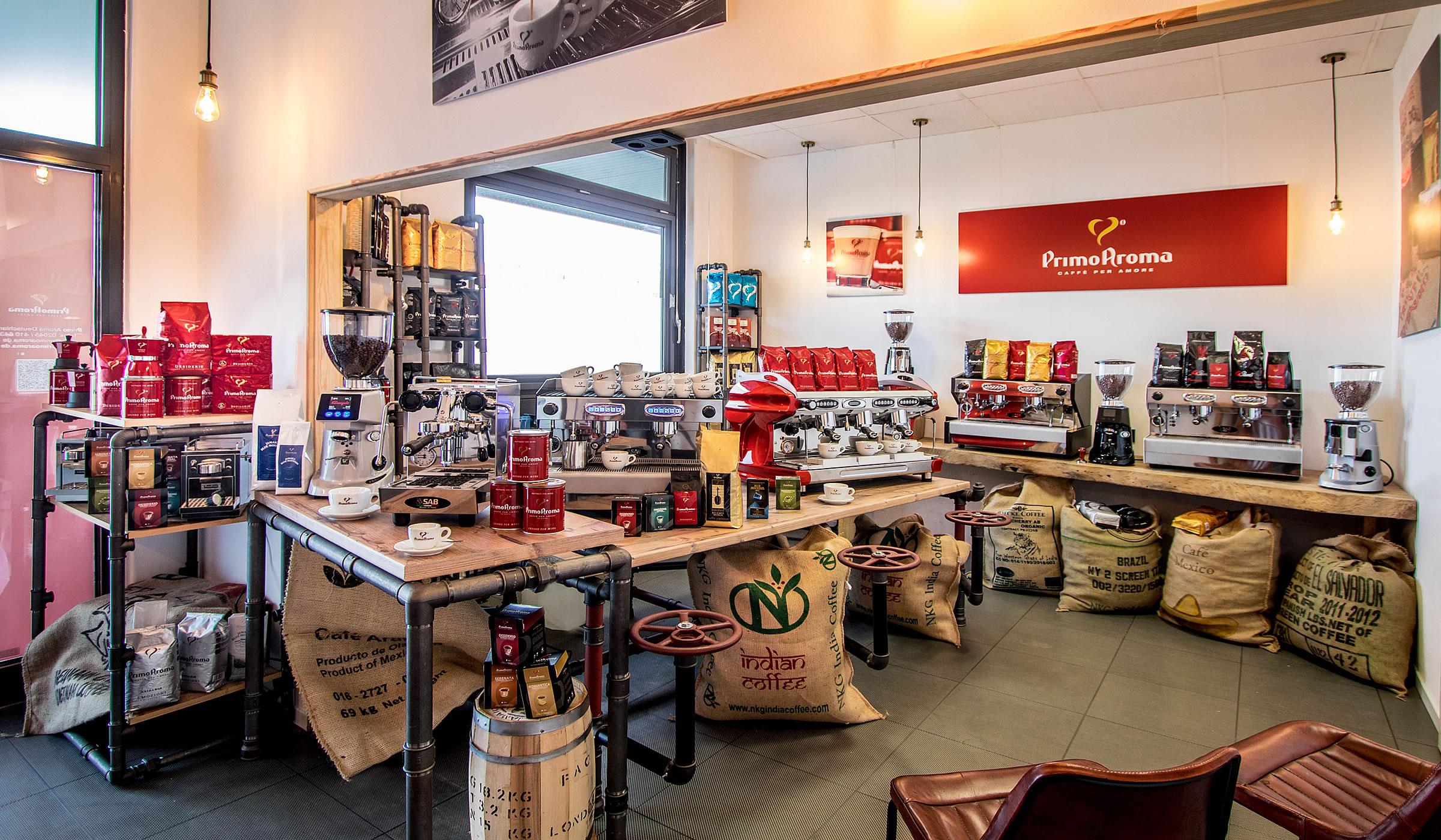 Kaffee-Showroom